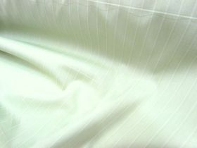 Stretch Cotton Shirting- Spearmint Stripe