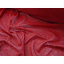 Designer Mesh- Vintage Red