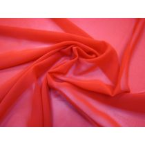 Chiffon- Bright Red