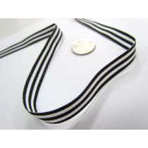 Candy Cane 10mm- Black / White