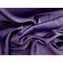 Lightweight Stretch Satin- Rich Purple
