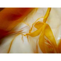 Silk Organza- Orange