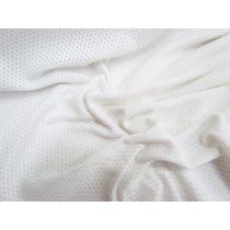 Sports Knit Mesh- White