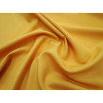 Australian Made Wool Blend Suiting- Saffron Gold