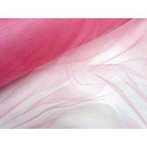 Designer Metallic Net- Barbie Pink