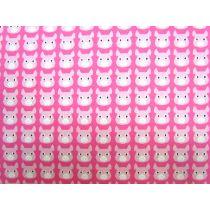 Kokka Pigs- Pink