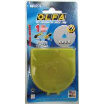 Olfa Rotary Cutter Blades- 60mm