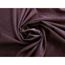 Wool Cotton Blend- Winter Burgundy #4665