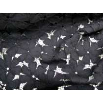 Peace Flower Lace- Black