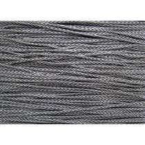 3mm Chevron Cord- Grey #214