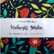 Moda Midnight Garden Charm Pack