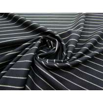 Metropolitan Stripe Rayon Blend Suiting #2741