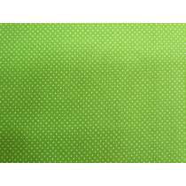 Fresh Tiny Spots Cotton- Garden Green #PW1017
