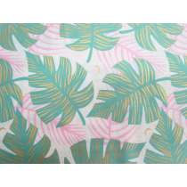 Ruby Star Society Cotton- Florida- Shade Palms- Water 24-12M