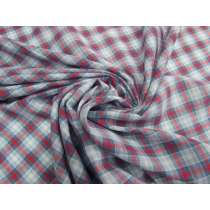 Apple Pie Check Cotton Voile #4767