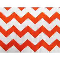 Chevron Cotton- Orange #2797