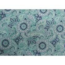 Liberty Cotton- Paisley Meadow- 5913A- The Emporium Collection