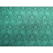 Liberty Cotton- Merton Rose- 5902F- The Emporium Collection- Teal
