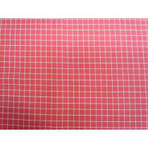 Ruby Star Society Cotton- Grid- Strawberry 14