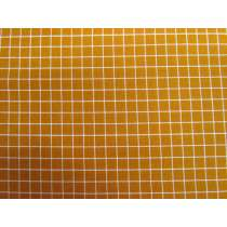 Ruby Star Society Cotton- Grid- Caramel 17