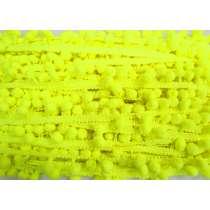 Pom Pom Trim- Highlighter Yellow #479