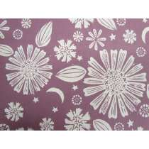 Ruby Star Society Cotton- Golden Hour- Zinnia- Lilac #21