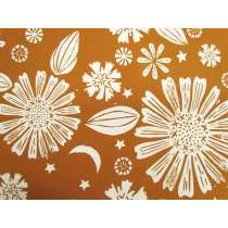 Ruby Star Society Cotton- Golden Hour- Zinnia- Saddle #14