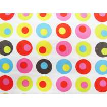 Dots in Spots Cotton- White #2918