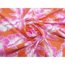 *Seconds* Hawaiian Sunset Spandex #4861- Reduced from $16.95/m