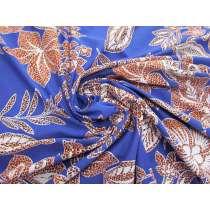 Wild Botanicals Spandex- Blue #4865