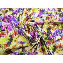 Floral Glitch Spandex #4875