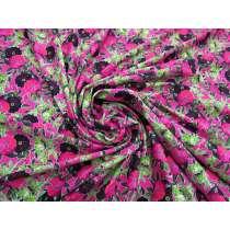 Vibrant Flowerbed Spandex #4879