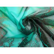 Natural Elegance Silk Georgette- Jade #4882
