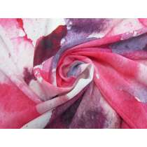 Rosey Hues Silk Crepe De Chine #4886