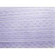 25mm Amelia Scroll Lace Trim- Purple #235