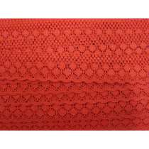 28mm Betty Lace Trim- Red #239