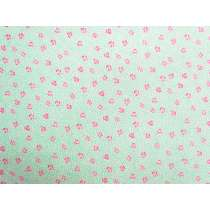 Liberty Cotton- Speckled Rose- 5924A- The Deco Dance Collection
