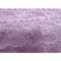 85mm Giselle Stretch Floral Lace Trim- Mauve #260