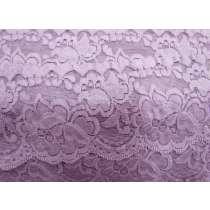 85mm Giselle Stretch Floral Lace Trim- Mauve #260