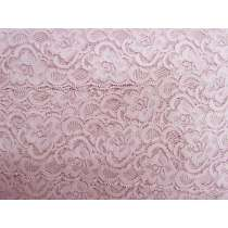 55mm Josephine Stretch Floral Lace Trim- French Rose #271