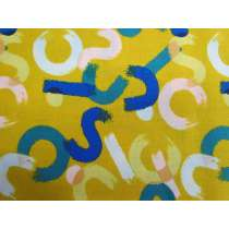 Ruby Star Society Cotton- Whatnot- Brushwork- Goldenrod #12