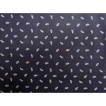 Mini Florals Cotton- Navy #4911