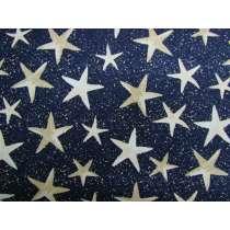 Sandy Stars Cotton #PW1036