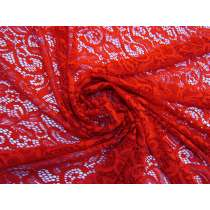Scarlet Orchid Paisley Lace  #4935