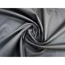 11oz Metallic Coated Stretch Denim- Meteorite Grey #2976