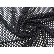 Stretch Fishnet Mesh- Black #4942