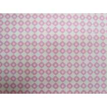 Enchanted Forest Cotton- Pink Square #640162