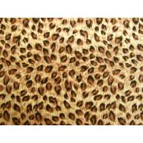 Wild Spot Cotton- Caramel Brown #PW1235