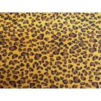 Leopard Spot Cotton- Golden #PW1238
