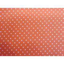 2mm Spot Cotton- Fruity Orange #PW1217